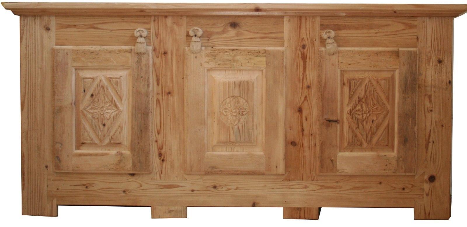 Tavoli sedie arredamenti porte finestre in legno antico for Cassapanca rovere
