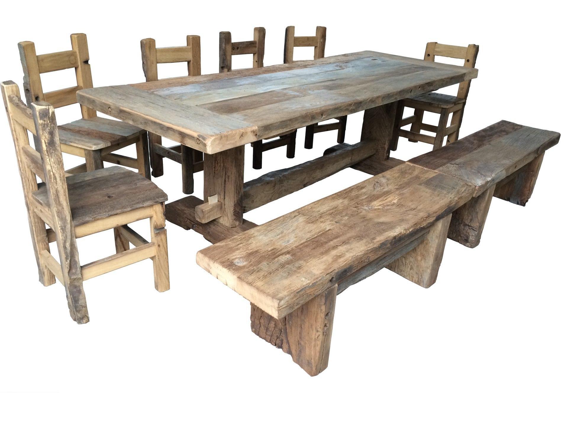 Tavoli sedie arredamenti porte finestre in legno antico ...