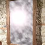 Specchiera in Castagno Antico