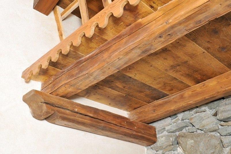 Scaletta In Legno Antica : Ambienti rivestimenti in legno antico vecchio di recupero effetto