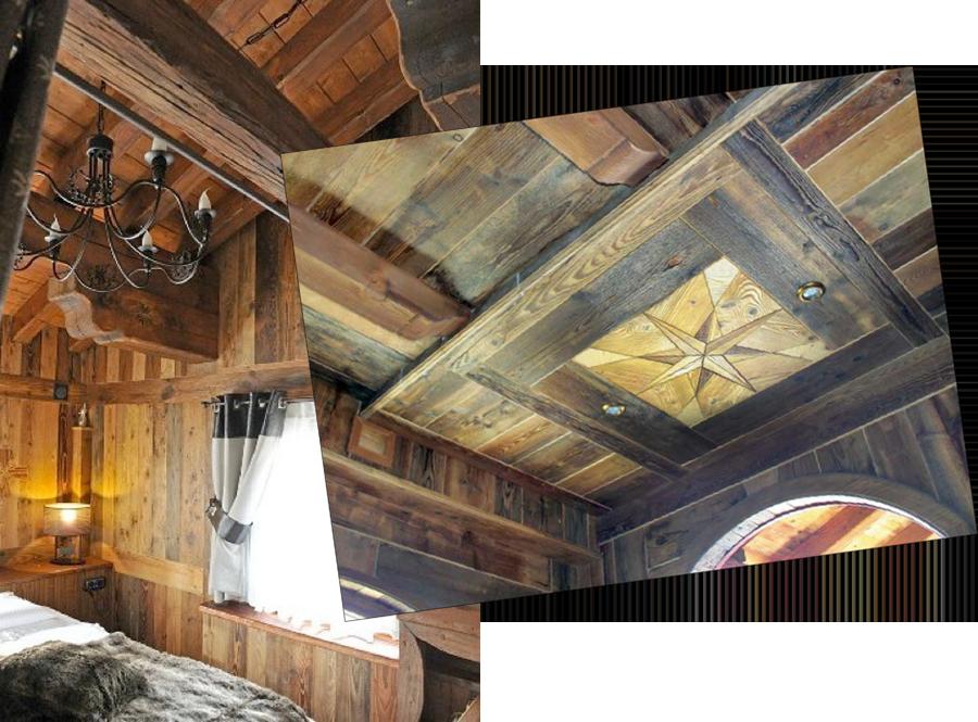 Rivestimento Soffitto Legno: Controsoffitti in legno ...